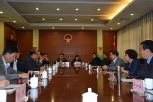 市人大常委会副主任吴峰枫带队外出考察学习不动产登记立法工作